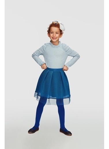 Lia Lea Kız Çocuk Mavi Bluz 20Fwll03522 Mavi